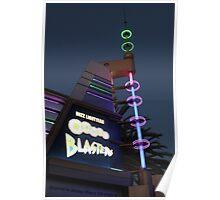 Buzz Lightyear Astro Blaster Poster