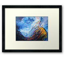Mitre Peak Framed Print