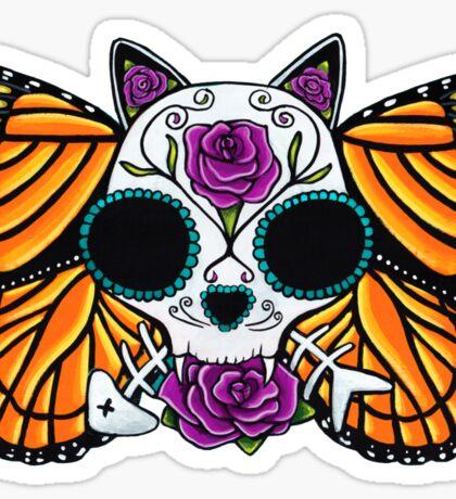 The Return of the Monarchs - Cat Sticker