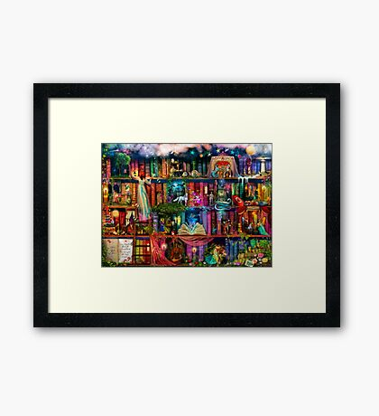 Whimsy Trove - Treasure Hunt Framed Print