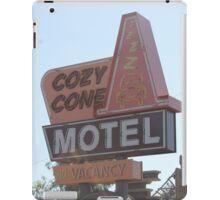 The Cozy Cone Motel iPad Case/Skin
