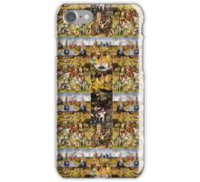 Garden of Earthly Delights quilt iPhone Case/Skin
