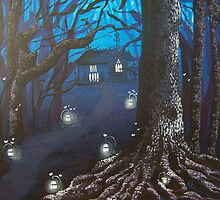 Night Forest by lins