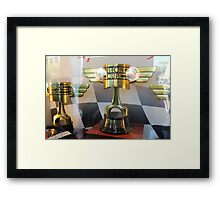 Piston Cup Framed Print