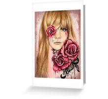 SULLENLY SWEET Greeting Card