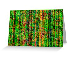 Abstract_Screen Greeting Card
