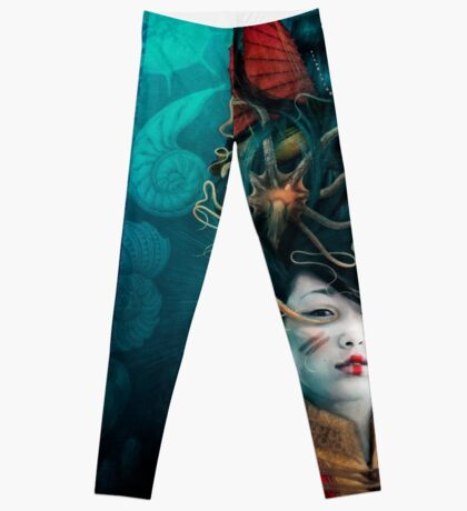 Queen of the Wild Frontier Leggings