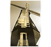 Sarre Windmill 2 Poster