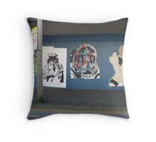 New Gallery on Cleveland Street Throw Pillow