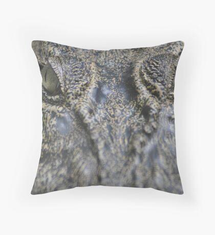 Salty, Semengoh Wildlife Centre, Borneo Throw Pillow