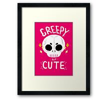 Creepy but cute Framed Print