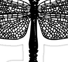 The Dragonfly Key Sticker