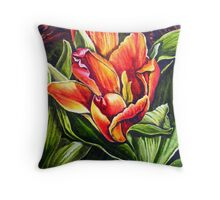crop 1Tulip Throw Pillow