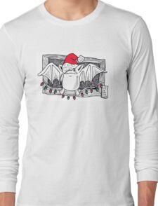 Santa Bat Long Sleeve T-Shirt