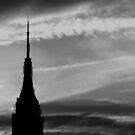 Empire State silhouette by Tom  Marriott