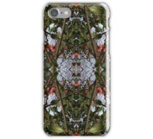 Mirrored Tree Collage 1 iPhone Case/Skin