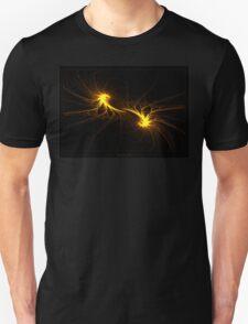 """""""Twin Flames""""  - Fractal Art Unisex T-Shirt"""