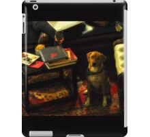 Sophisticated Pooch iPad Case/Skin