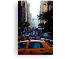 Taxi...! Canvas Print