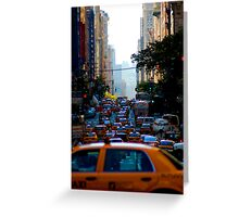 Taxi...! Greeting Card