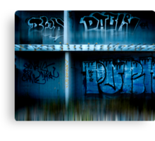 urb reverberation (Discovery)  Canvas Print