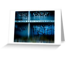 urb reverberation (Discovery)  Greeting Card