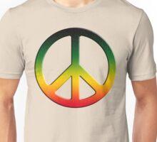Rasta Peace Unisex T-Shirt