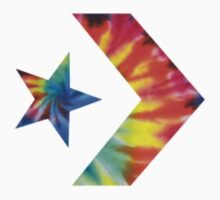 Tie Dye Converse Logo  by beeweecee