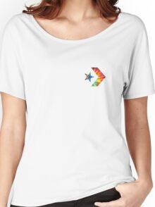 Tie Dye Converse Logo  Women's Relaxed Fit T-Shirt