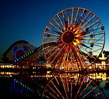 LA - at California Adventure by Misa Kobayashi
