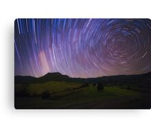 Lost World Star Trails Canvas Print