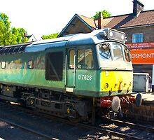 D7628 at Grosmont by Trevor Kersley