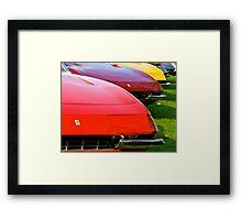 Ferrari Daytona Fronts Framed Print