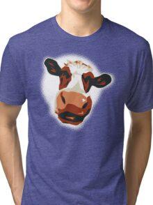 Festival Cow Tri-blend T-Shirt