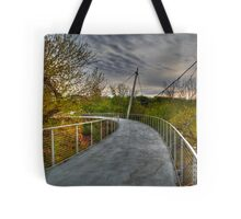 1945 - Alone on Liberty Bridge Tote Bag