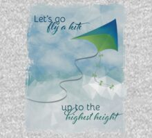 Let's Go Fly a Kite! Inspired by Mary Poppins One Piece - Long Sleeve