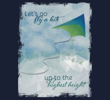 Let's Go Fly a Kite! Inspired by Mary Poppins Kids Tee