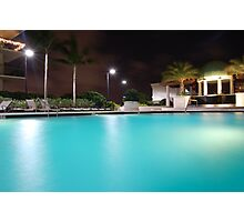 Midnight Pool Photographic Print
