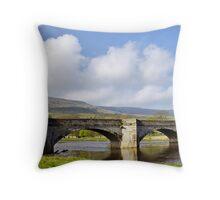 Burnsall Bridge Throw Pillow