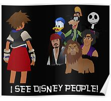 I See Disney People! Poster