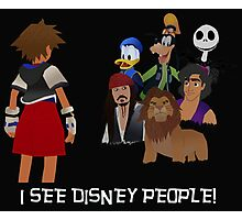 I See Disney People! Photographic Print