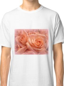 Roses, blushing so tenderly for you. Classic T-Shirt