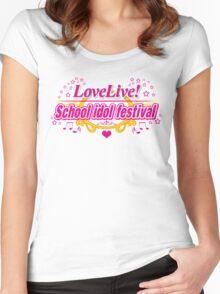 Love Live School Idol Festival !  Women's Fitted Scoop T-Shirt