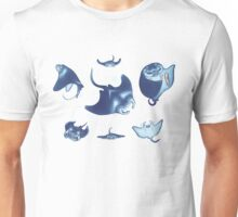 manta rays Unisex T-Shirt
