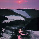 Sand dunes, Thurra River, Croajingalong NP, East Gippsland, Victoria, Australia. by Ern Mainka