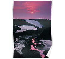 Sand dunes, Thurra River, Croajingalong NP, East Gippsland, Victoria, Australia. Poster