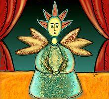 FOLK ART ANGEL by Frances Perea