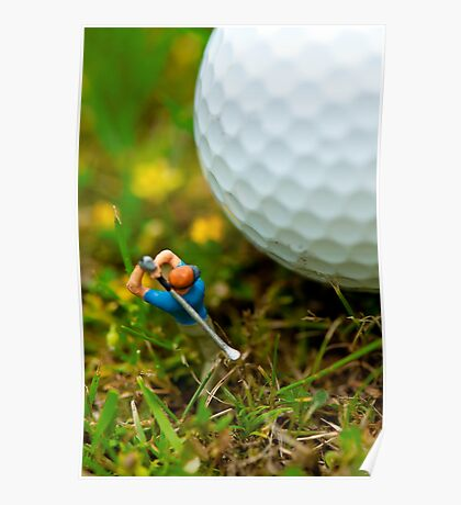 Fore! Poster