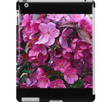 Dark Pink Cherry Blossoms iPad Case/Skin