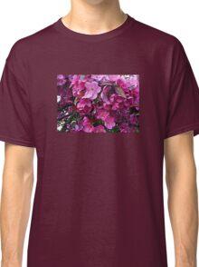Dark Pink Cherry Blossoms Classic T-Shirt